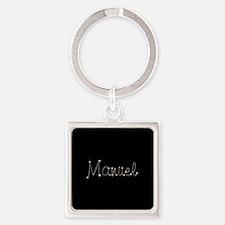 Manuel Spark Square Keychain
