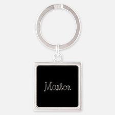 Marlon Spark Square Keychain