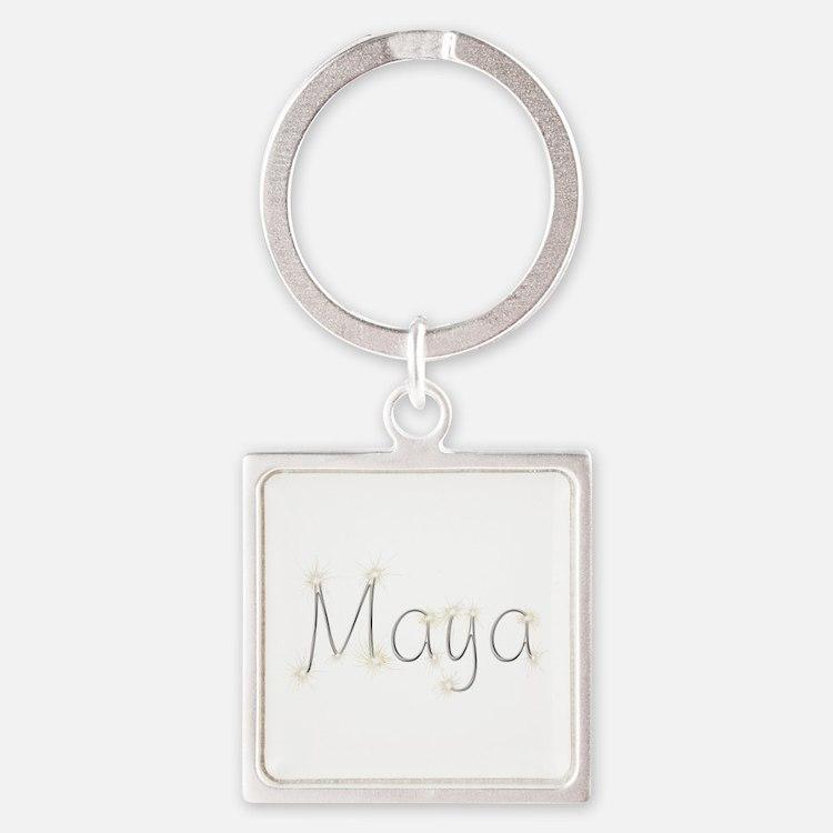 Maya Spark Square Keychain