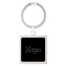 Mayra Spark Square Keychain