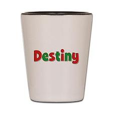 Destiny Christmas Shot Glass