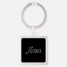 Nana Spark Square Keychain