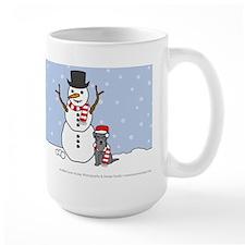 Miniature Schnauzer Winter Mug