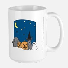 Miniature Schnauzer Halloween Mug