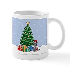 Miniature Schnauzer Christmas Mug