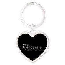 Rhiannon Spark Heart Keychain