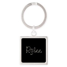 Rylee Spark Square Keychain