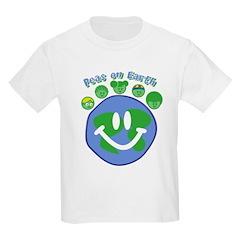 Peas On Earth Kids T-Shirt