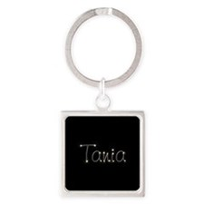 Tania Spark Square Keychain