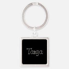Tanya Spark Square Keychain