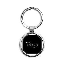Tanya Spark Round Keychain