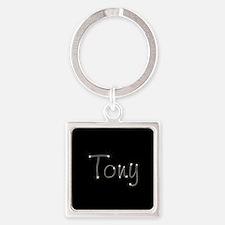 Tony Spark Square Keychain