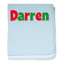 Darren Christmas baby blanket