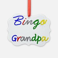 Bingo Grandpa Ornament