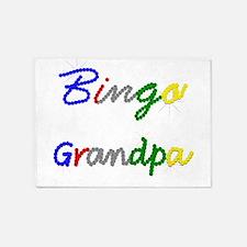 Bingo Grandpa 5'x7'Area Rug
