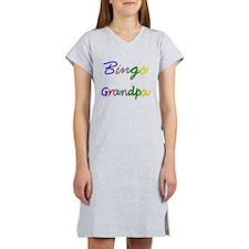 Bingo Grandpa Women's Nightshirt