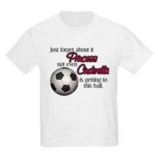 Princess can't get to the ball T-Shirt
