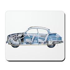Saab 96 Mousepad