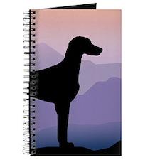Funny Weimeraner Journal