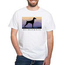 weimaraner mt sunrise wdtx T-Shirt