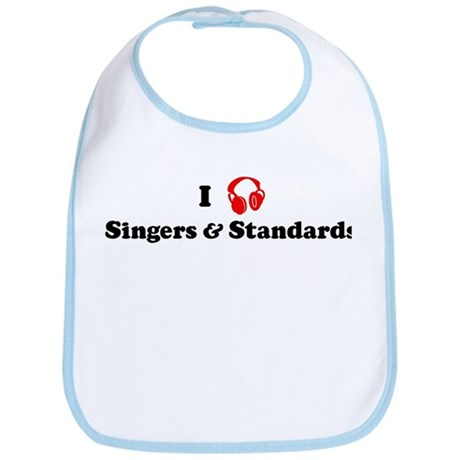 Singers & Standards music Bib