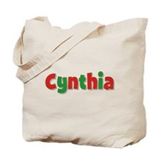 Cynthia Christmas Tote Bag