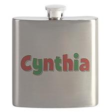 Cynthia Christmas Flask