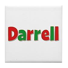Darrell Christmas Tile Coaster