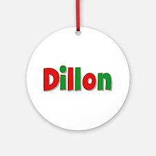 Dillon Christmas Round Ornament