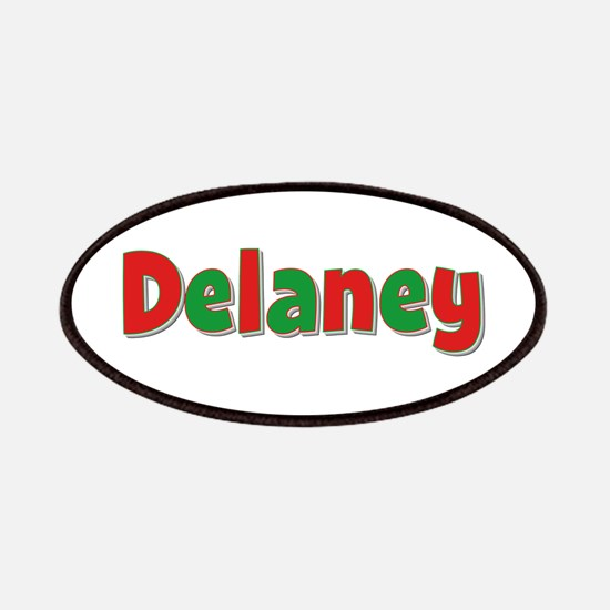 Delaney Christmas Patch