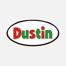 Dustin Christmas Patch
