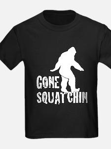 Gone Squatchin print T