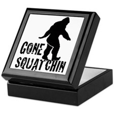 Gone Squatchin print Keepsake Box