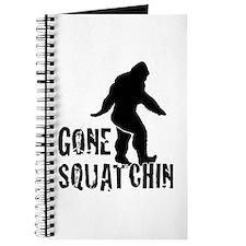 Gone Squatchin print Journal
