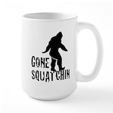 Gone Squatchin print Mug