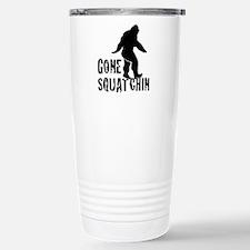 Gone Squatchin print Travel Mug