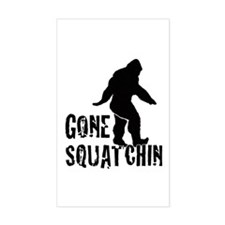 Gone Squatchin print Decal
