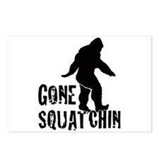 Gone Squatchin print Postcards (Package of 8)