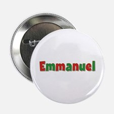 Emmanuel Christmas Button