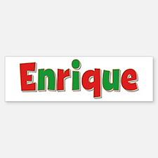 Enrique Christmas Bumper Bumper Stickers