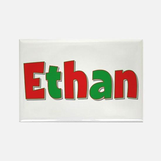 Ethan Christmas Rectangle Magnet