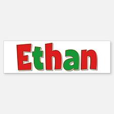 Ethan Christmas Bumper Bumper Bumper Sticker