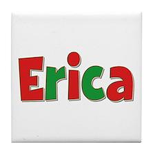 Erica Christmas Tile Coaster
