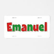 Emanuel Christmas Aluminum License Plate