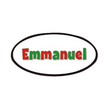 Emmanuel Christmas Patch