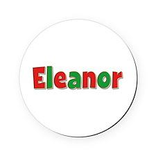 Eleanor Christmas Cork Coaster