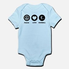 Kickball Infant Bodysuit