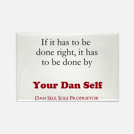Your Dan Self Rectangle Magnet