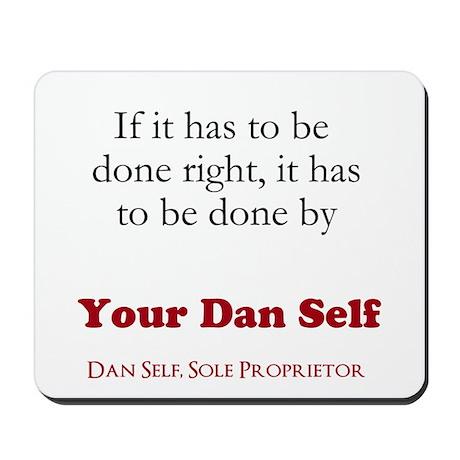 Your Dan Self basic Mousepad