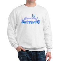 Social Butterfly Sweatshirt
